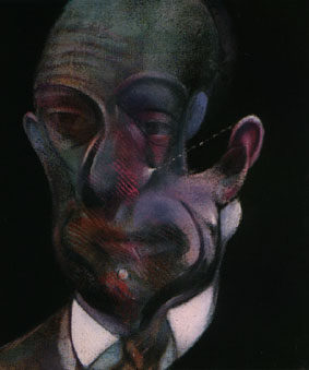 """Study for Portrait (Michel Leiris)"" by Francis Bacon."