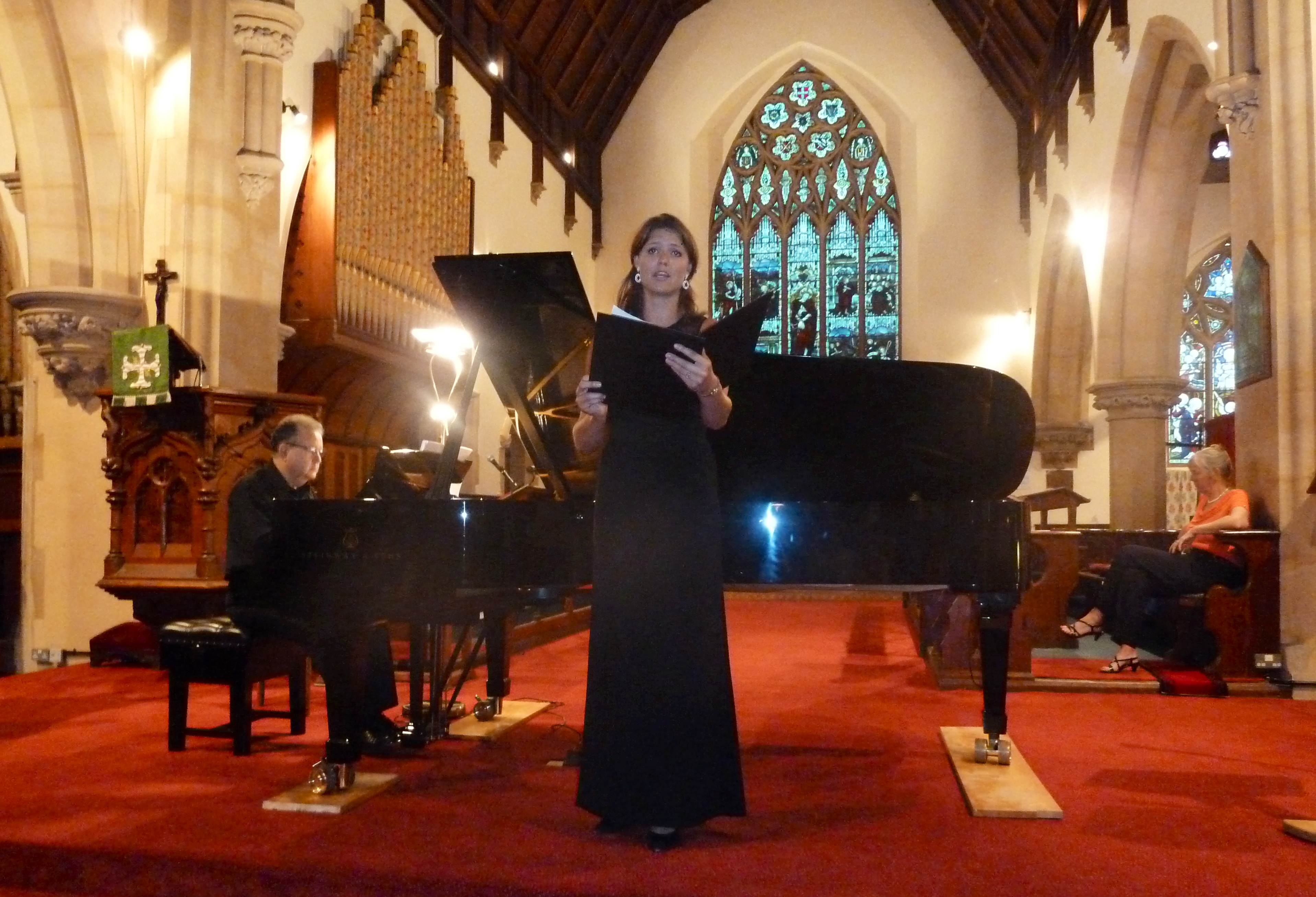 "Jenny Lind Gala Concert ""The Dream of Chopin"" produced by Icons of Europe in Christ Church, Malvern, Worcestershire, UK, 13 June 2013. Copyright � 2013 Icons of Europe, Brussels."