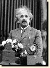 Born in Germany, Albert Einstein (1879-1955) received the Nobel Prize in Physics 1921.  Albert Einstein had close relations with Belgium, which included Ernest Solvay and later King Albert I and Queen Elisabeth.