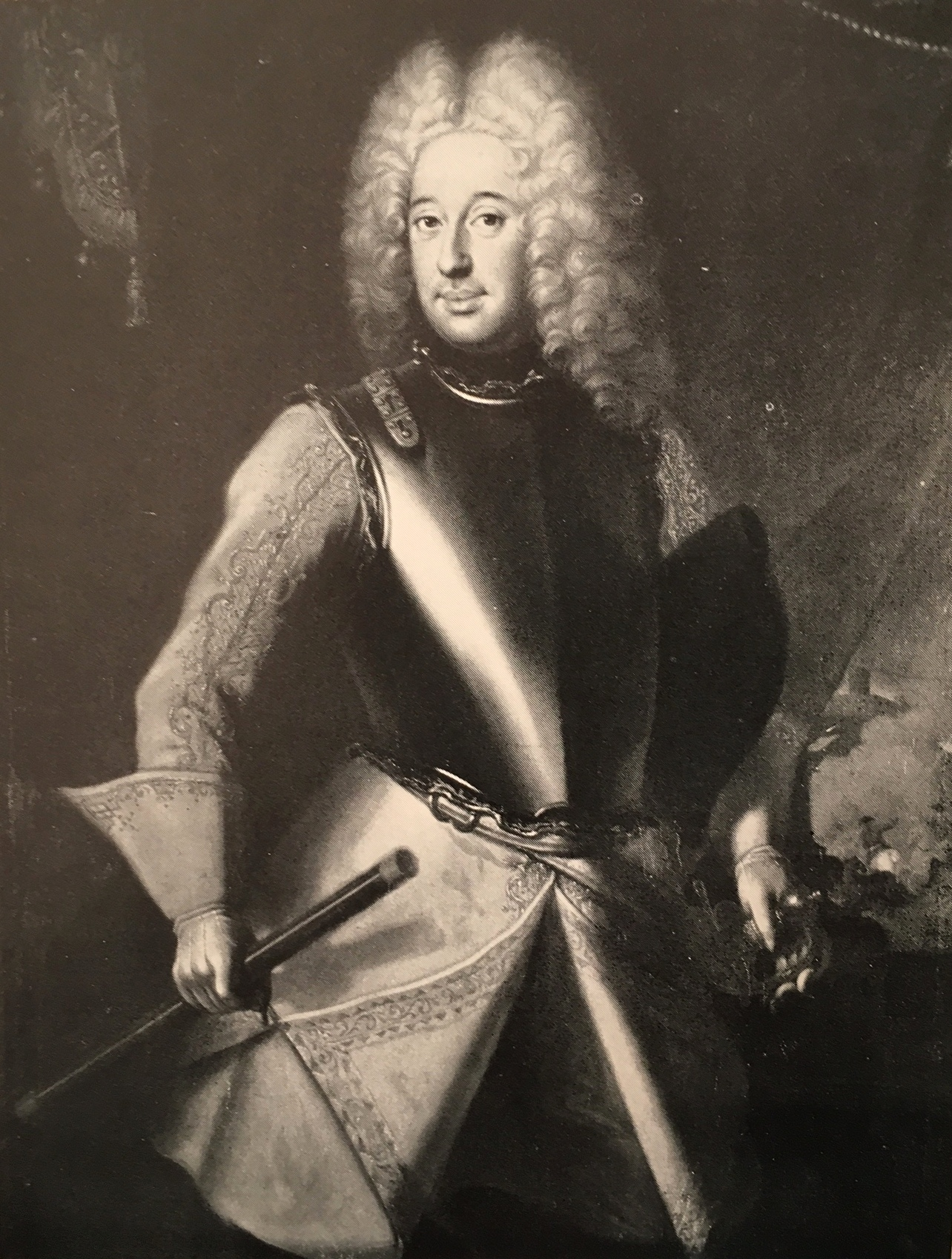 Sweden's generalissimus Frederick of Hesse, the later Frederick I of Sweden.