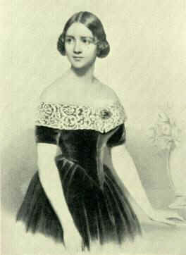 Jenny Lind, a lithograph dated about 1845.