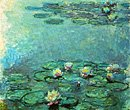 """Nympheas"", oil on canvas by Claude Monet (1840-1926).  © Christie's Images Inc. 2001."