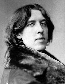 Oscar Wilde (1854-1900) in 1882.  Photograph by Napoleon Sarony, New York.