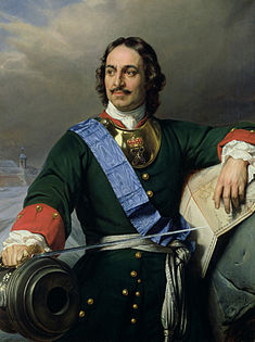 Peter the Great of Russia (1772-1825), subject of investigative research by Icons of Europe, Brussels.