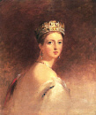 Queen Victoria (1819-1901).  -  Jenny Lind sang an arrangement of Mazurka op. 24, n° 3 for the Queen at Windsor Castle on 28 December 1855 and at Buckingham Palace on 30 May 1856.