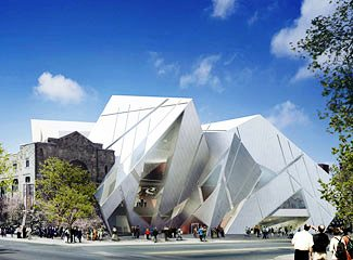 "The Royal Ontario Museum at Toronto, the venue of the Canadian premiere of ""The Composer and The Nigtingale"" in 2005."